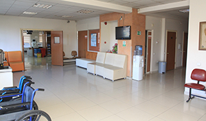 İkinci Yaşam Diyaliz Merkezi Hasta Bekleme Salonu